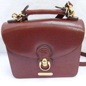Vintage Polo Ralph Lauren Leather Structured Purse